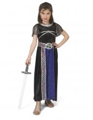 Krigerinde middelalder kostume pige