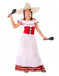 Mexicansk kvinde kostume - pige