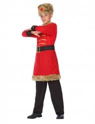 Russisk soldat kostume - dreng