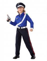 Politi karabiner kostume - dreng