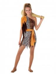 Præhistorisk kvinde kostume - teenager