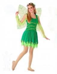 Grøn fe kostume - teenager