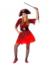 Hr. farlig pirat kostume - teenager
