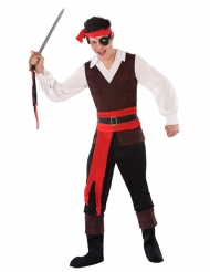 Arrig pirat kostume - teenager