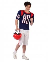Amerikansk fodboldspiller kostume - teenager