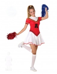 Amerikansk cheerleader kostume - teenager