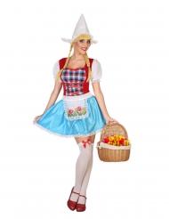 Hollandsk kostume - kvinde