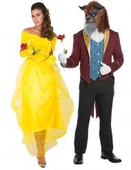 Par kostume skønheden og udyret