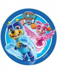 Sukkerdisk Paw Patrol™ blå 21 cm