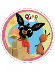 Spiselig kagedekoration disk Bing™ 21 cm