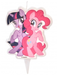 Stearinlys My Little Pony™ Twilight Sparkle & Pinkie Pie 6,5 cm