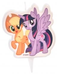 Stearinlys My Little Pony™Applejack & Twilight Sparkle 6,5 cm