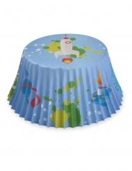 50 Cupcake forme astronaut 7 cm