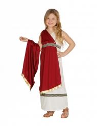 Romersk prinsesse kostume - pige