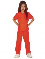 Indsat kostume orange - pige