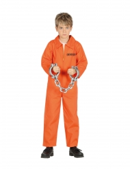 Indsat kostume orange - dreng