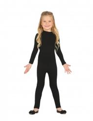 Gymnastikdragt kostume sort - barn