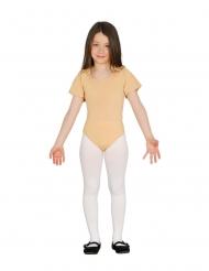 Body med korte ærmer beige - barn