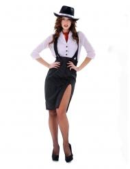 Gangster kostume - kvinde