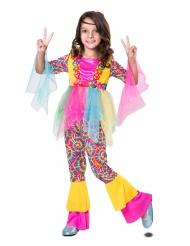 Hippie tylskørt kostume - pige