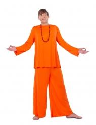 Orange disciple kostume - mand