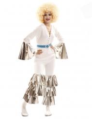 Saturday Night disko kostume hvid - kvindee