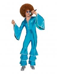 Saturday Night disko kostume blå - mand
