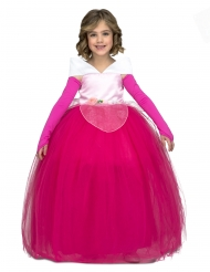 Bal prinsees kjole lyserød - pige