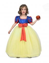 Bal prinsesse kjole gul og blå - pige