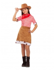 Wester cowgirl kostume - pige