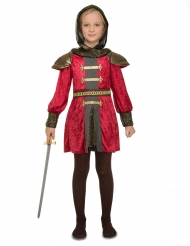 Middelalder ridderkostume - pige