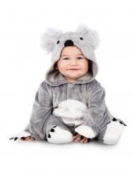 Grå koala kostume - baby
