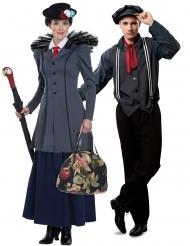 Par kostume skorstensfejer og engelsk sygeplejerske