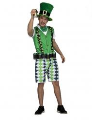 Irsk kostume med øl-bælte