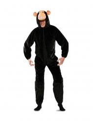 Sorte abe kostume - voksen