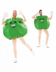 Grøn slik kostume - voksen
