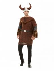 Vikinge plyndrer kostume - mand