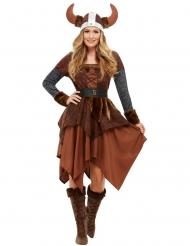Vikingedronning kostume - kvinde