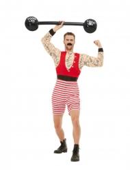 Stærk tatoveret mand kostume