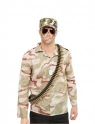 Militær sæt med tilbehør - voksen