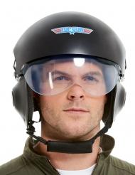 Luksus Top Gun™  hjelm sort - voksen