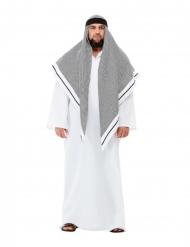 Hvid sheik luksus kostume
