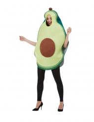 Avocado kostume - voksen