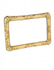 Fotoramme oppustelig guld 80 x 60 cm