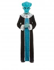 Blå rumvæsen kostume - dreng