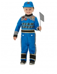 Racer kører kostume blå - baby