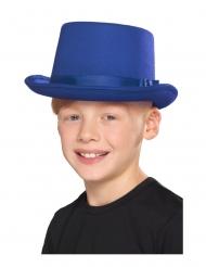 Blå tophat - barn