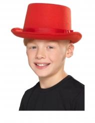Rød tophat - børn