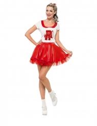 Grease Cheerleader™ kostume kvinde