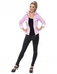 Luksus jakke Pink Ladies Grease™ - kvinde